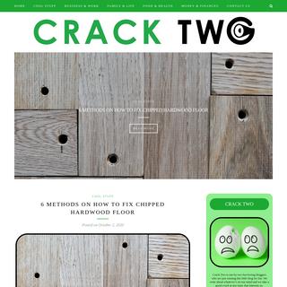 Crack Two – Blog