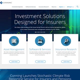 Insurance Asset Management - Conning
