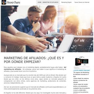 MARKETING DE AFILIADOS- ¿QUÉ ES Y POR DÓNDE EMPEZAR-