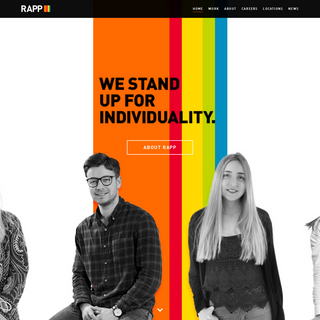 WE ARE FIERCELY INDIVIDUAL - RAPP.com