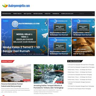 Homepage - IhateGreenJello