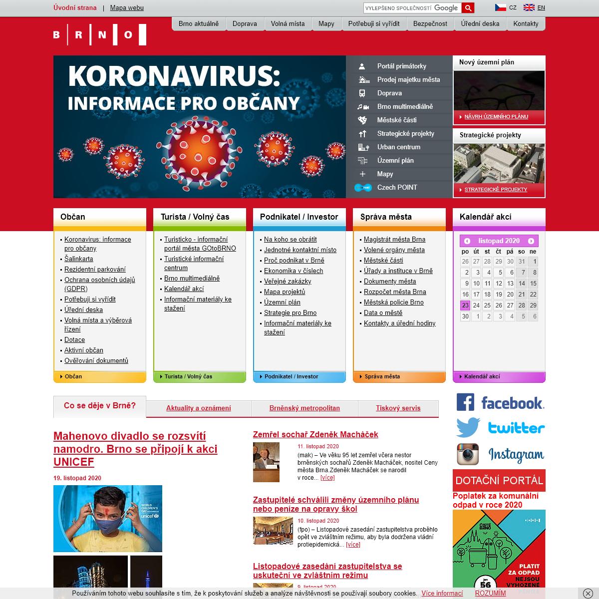 Brno - oficiální web statutárního města Brna