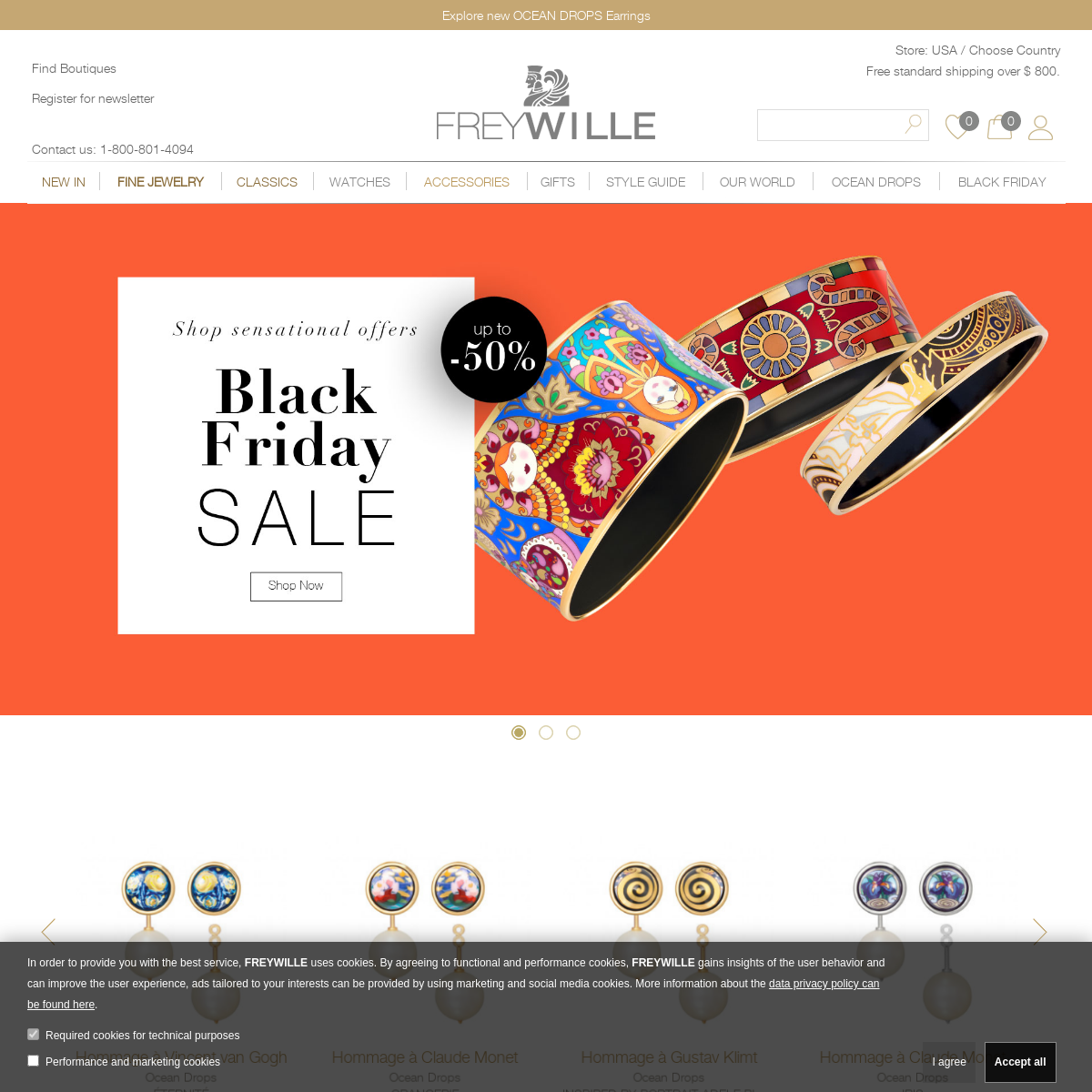 FREYWILLE - Online Boutique