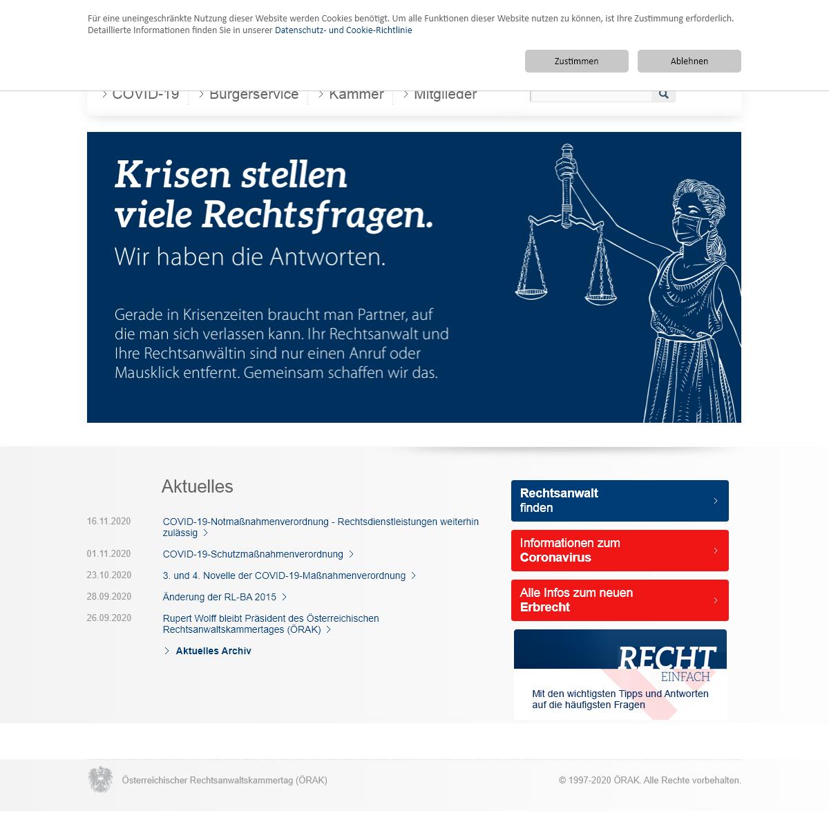 Österreichischer Rechtsanwaltskammertag - rechtsanwaelte.at