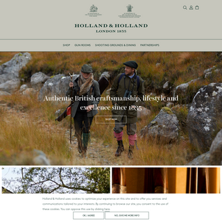 Holland & Holland - Authentic British craftsmanship, lifestyle and excellence since 1835