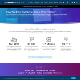 The Linux Foundation – Supporting Open Source Ecosystems