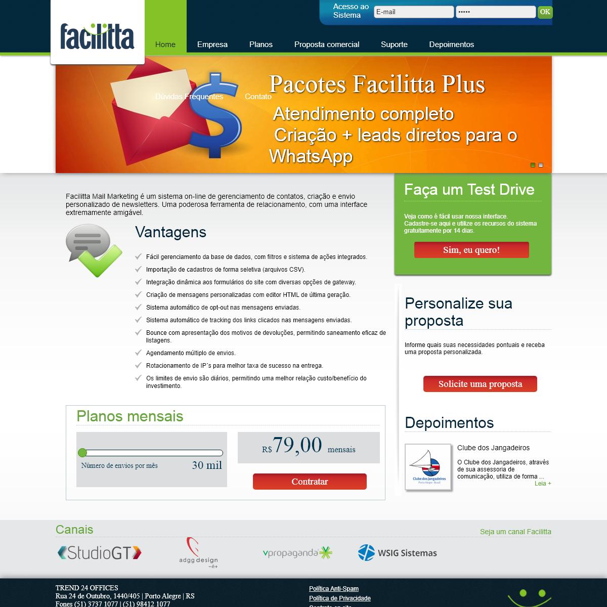 Facilitta E-mail Marketing - Porto Alegre