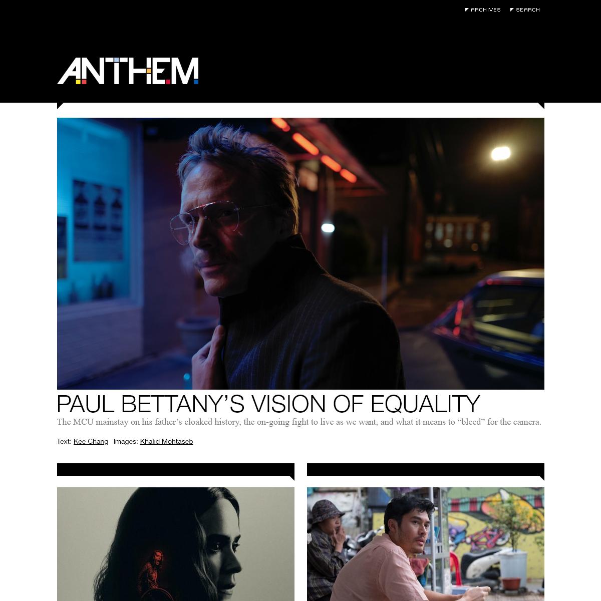 Anthem Magazine -