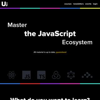Master the JavaScript Ecosystem - ui.dev