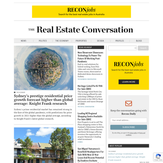 The Real Estate Conversation - Real estate information for buyers and investors
