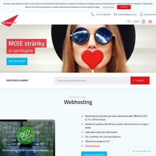 Domény a profesionálny webhosting - Active24