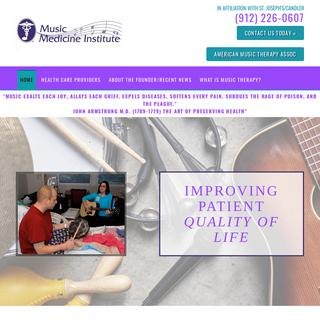 Music Therapy - Savannah, GA - Music Medicine Institute