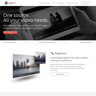 Best TV – One source. All your video needs.