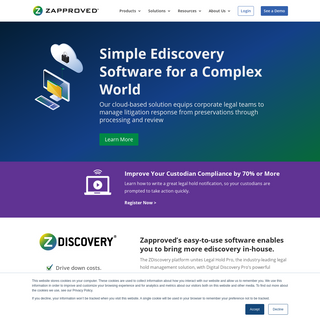 Ediscovery Software For In-House Corporate Legal Teams - Zapproved