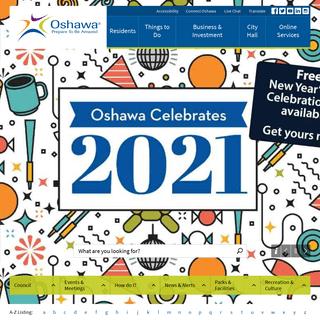 Index - City of Oshawa
