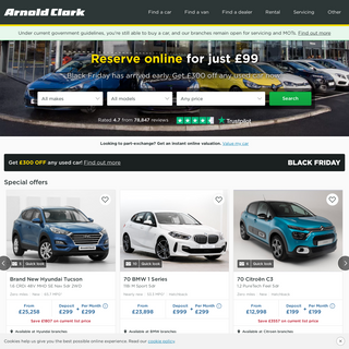 Arnold Clark - New & Used Cars
