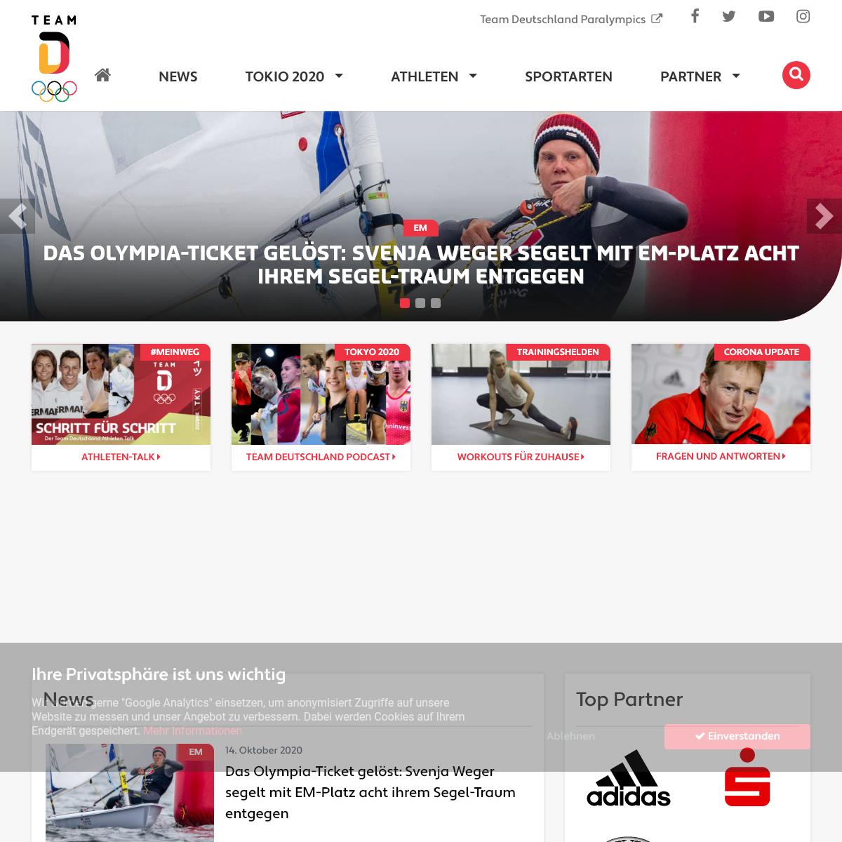 Startseite - Team Deutschland