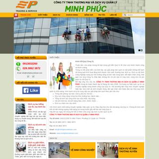 MINH PHÚC - Sản phẩm tiêu biểu