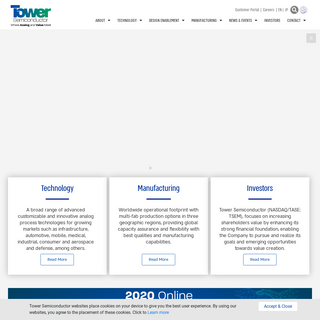 Home Page - Tower Semiconductor