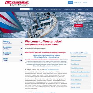 index - Westerbeke
