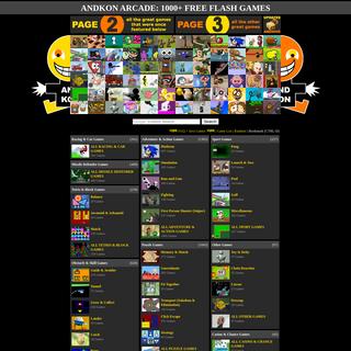 Andkon Arcade- 1000+ Free Flash Games