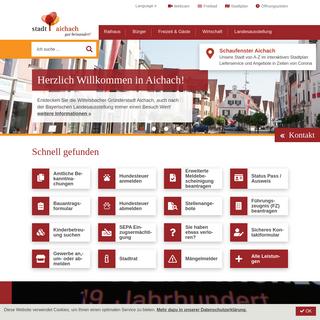 Startseite - Aichach