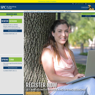 Home Page -- St. Petersburg College