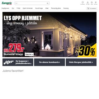 Europris - Mer til overs