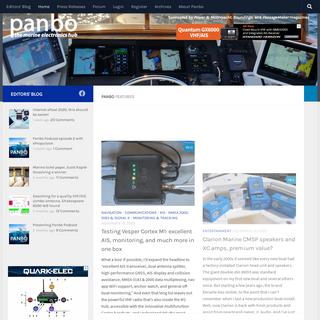 Panbo – The Marine Electronics Hub