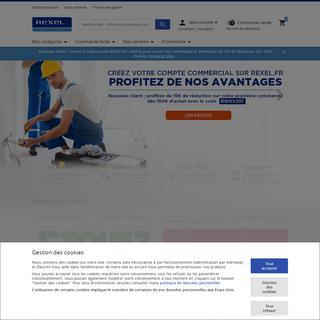 Rexel France - Fournisseur de matériel électrique