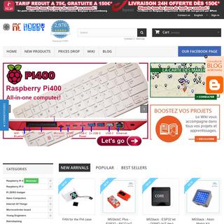 MCHobby - Vente de Raspberry Pi, Arduino, ODROID, Adafruit
