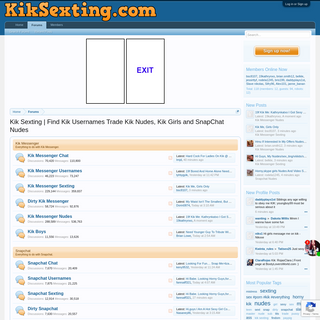 A complete backup of www.kiksexting.com