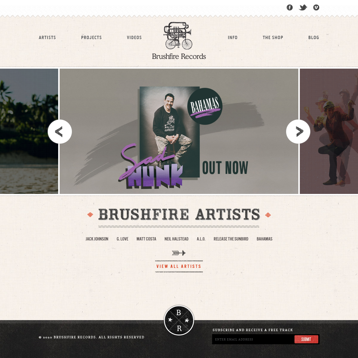 Welcome to Brushfire Records