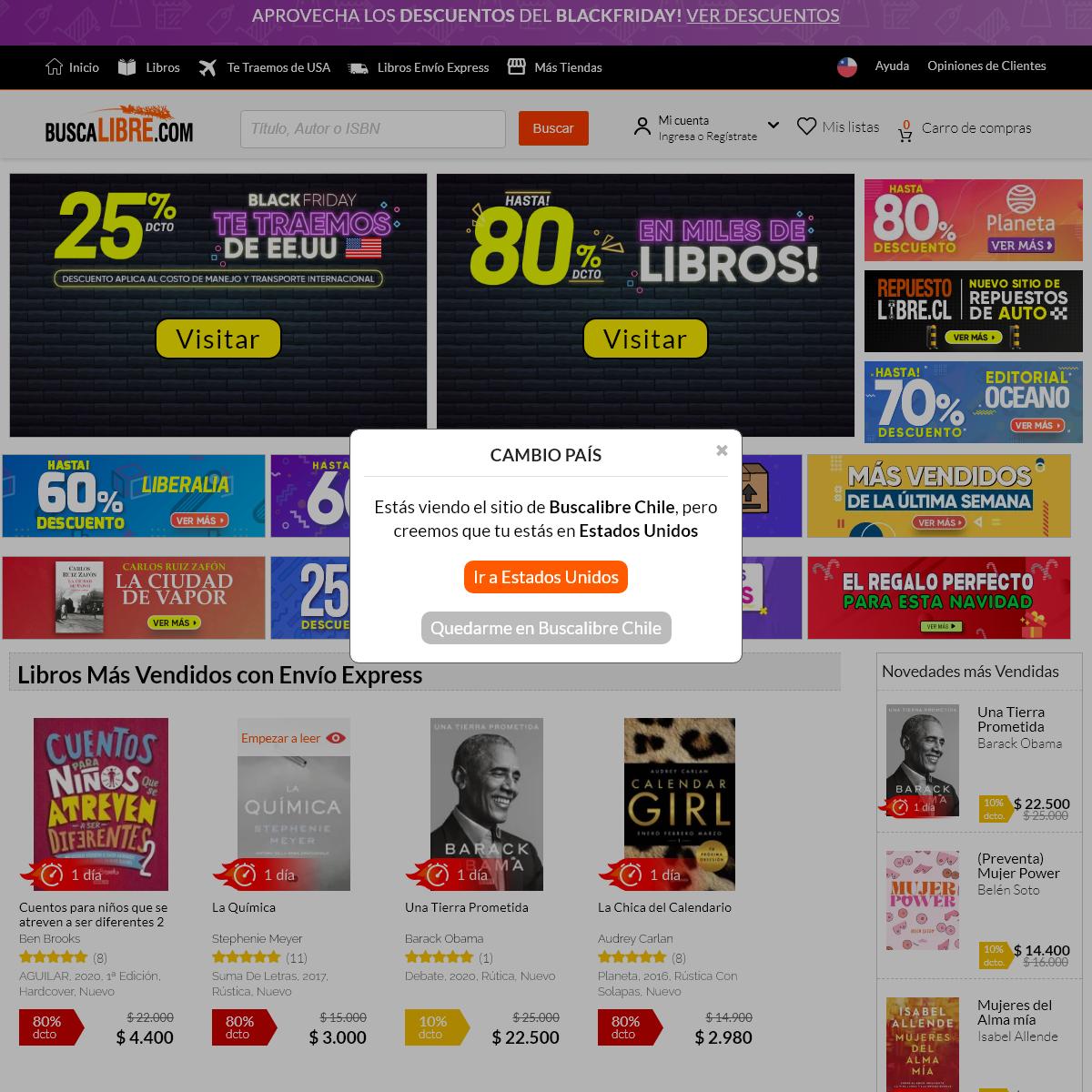 Comprar libros, importar de Amazon y Ebay en https---www.buscalibre.cl