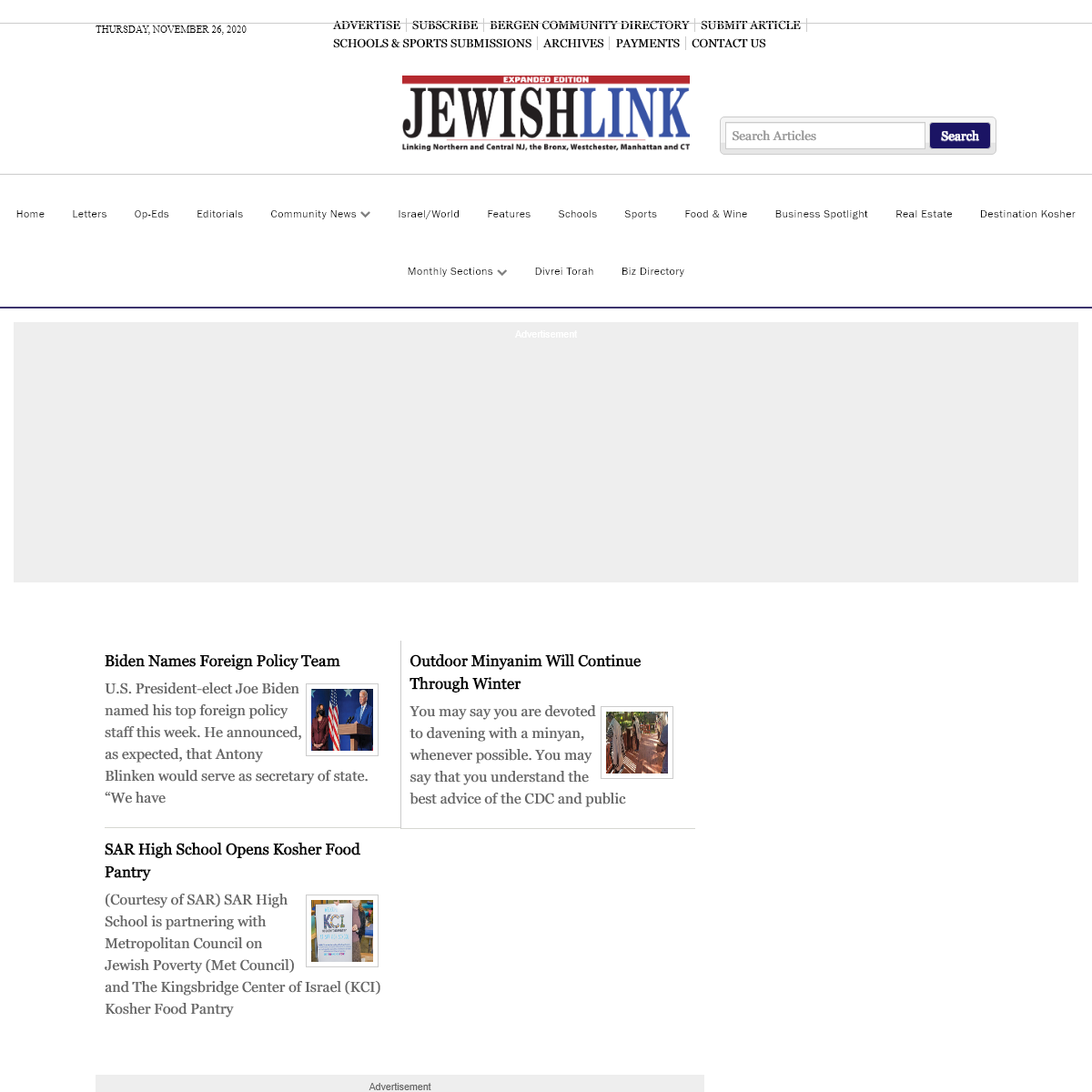 The Jewish Link of New Jersey - JewishLink