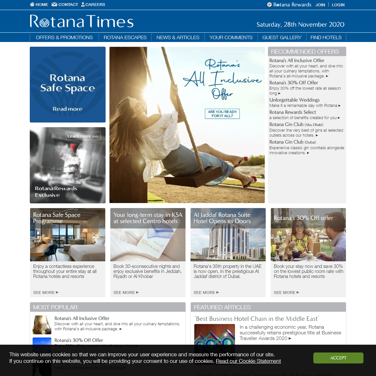 Rotana Times • Offers & Deals at Our Luxury Hotels