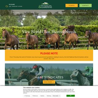 Irish National Stud & Gardens- Official Website