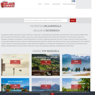 Alles rund um Ihren Urlaub in Österreich - UrlaubUrlaub.at