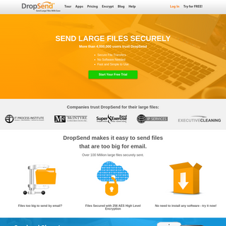 DropSend - Send Large Files and Email Large Files