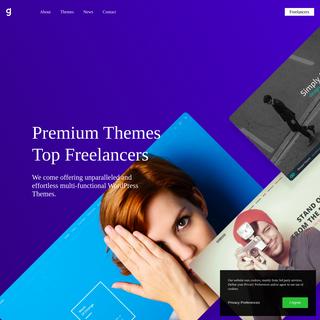 Web Design Agency & Premium WordPress themes - Greatives.eu