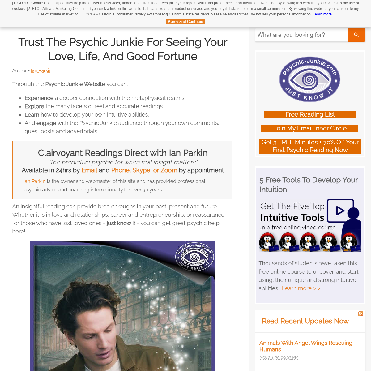 Trust The Psychic Junkie For Seeing Your Love, Life, And Good Fortune
