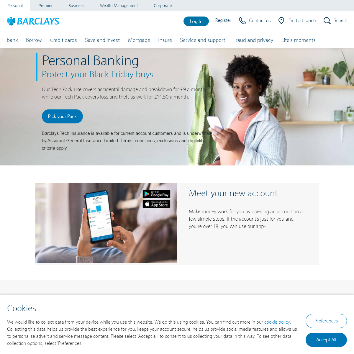 Personal banking - Barclays