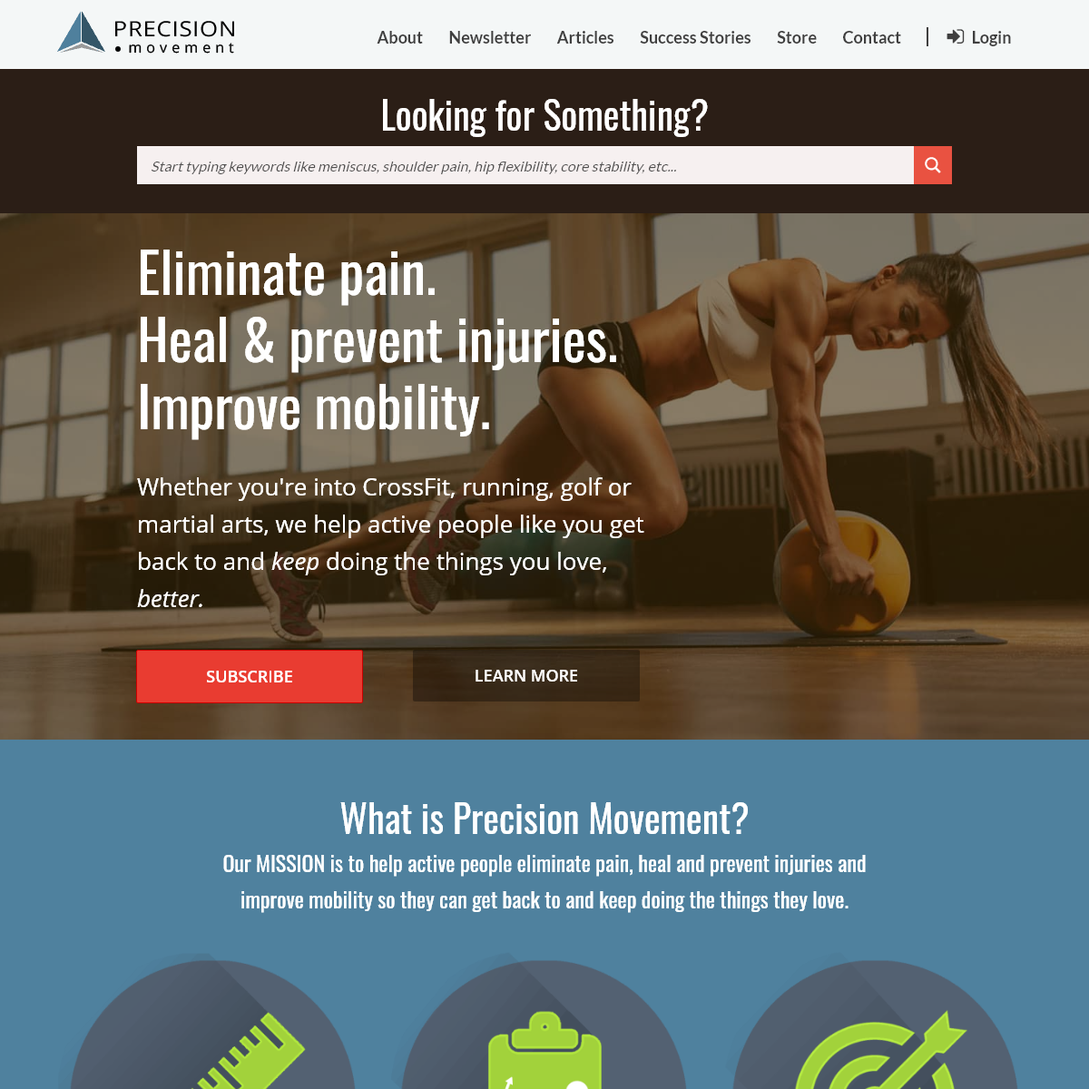 Eliminate Pain - Heal & Prevent Injuries - Improve Mobility - Precision Movement
