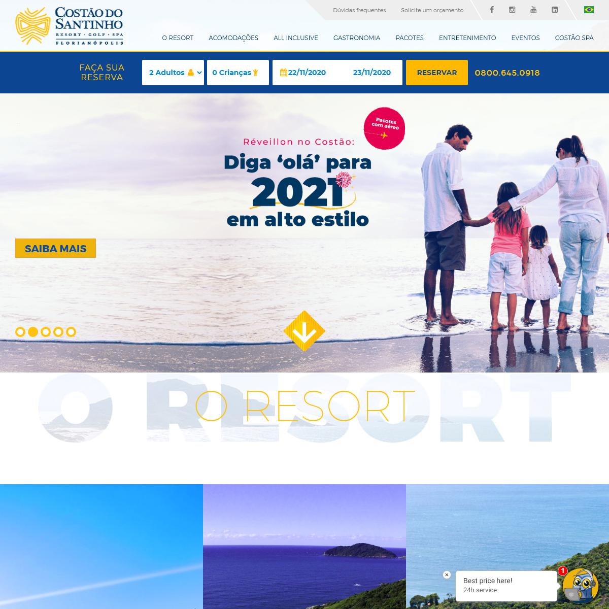 Costão do Santinho Resort - Resort All Inclusive