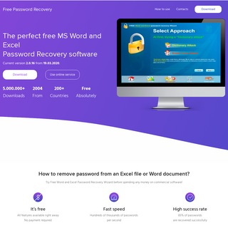 [OFFICIAL] FREE MS Word & Excel Password Remover v2020