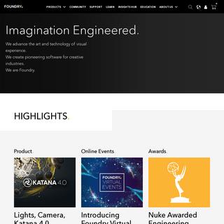 Imagination Engineered - Foundry