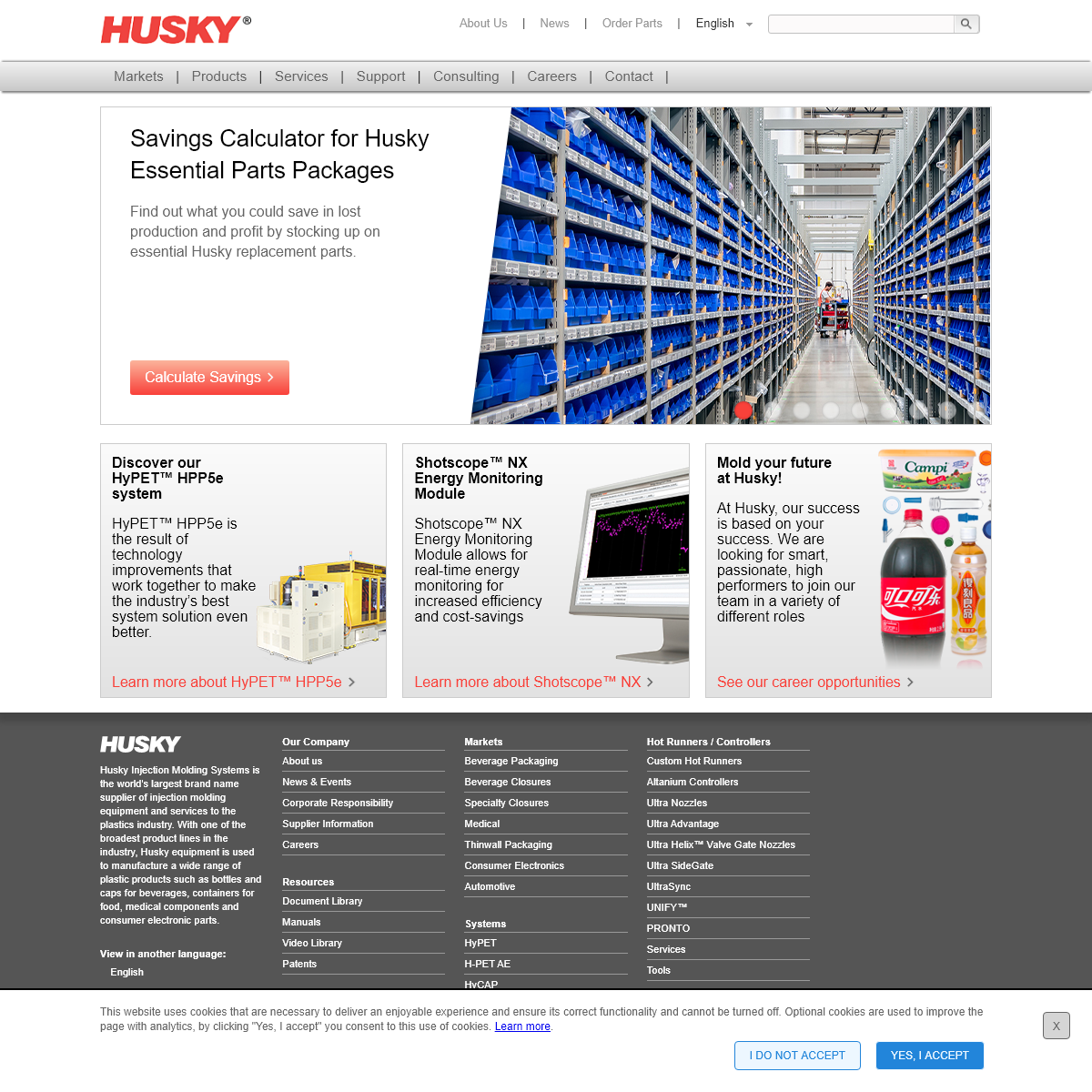 Husky Injection Molding Systems - Plastic Injection Molding