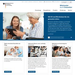 Startseite — Miteinander durch Innovation