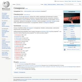 Cenangiaceae – Wikipedia, wolna encyklopedia
