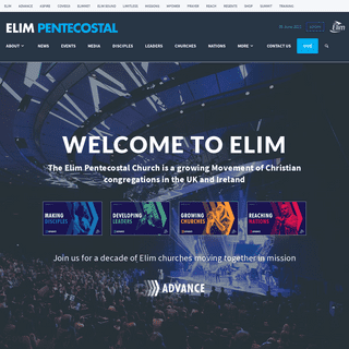 Welcome to Elim